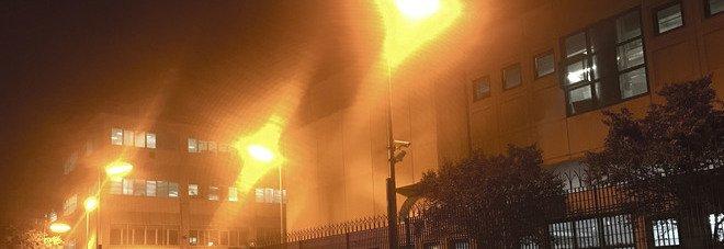 Roma, esplosione alla Zecca di Stato: vigili del fuoco sul posto