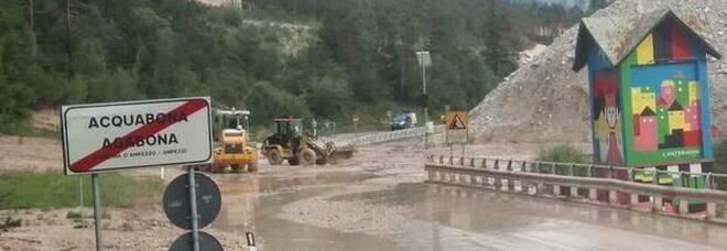 Come in passato, ancora problemi ad Acuqbona: strada chiusa