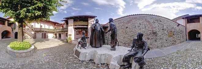 La casa natale di Papa Roncalli, a Sotto il Monte