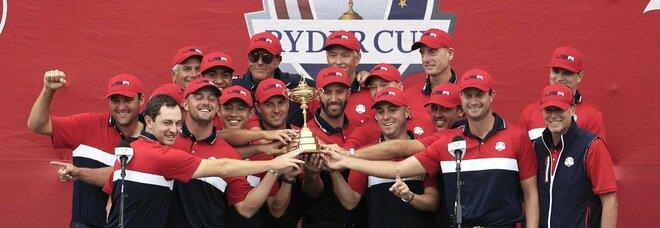 La Ryder Cup è degli Stati Uniti: travolta l'Europa che ora aspetta Roma