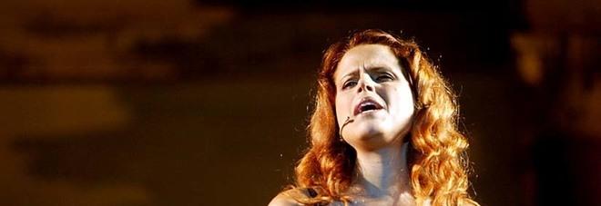 La cantante Tosca