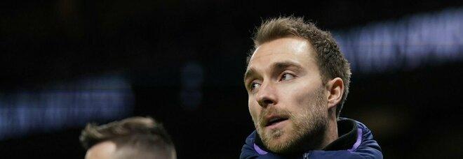 Inter: Eriksen torna a Milano e sta bene, seguirà la riabilitazione in Danimarca