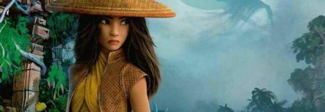 Una nuova eroina Disney: a marzo arriva Raya e cerca l'ultimo drago per salvare il mondo