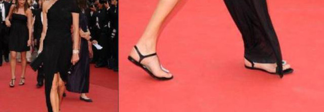 L'attrice Ines de la Fressange a Cannes