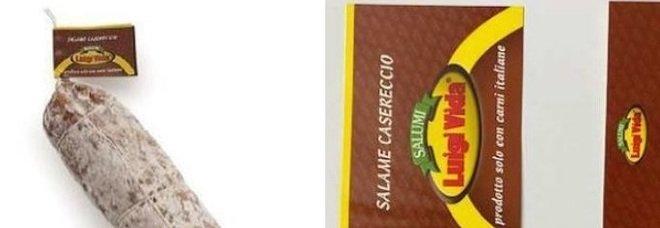 Salame a rischio salmonella: il Ministero ritira lotto pericoloso