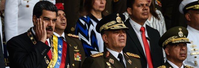 Maduro il giorno dell'attentato