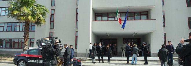 Il palazzo di giustizia a Bari