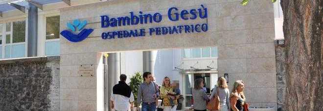 L'ingresso dell'ospedale pediatrico