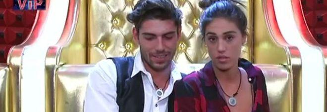 Cecilia e Ignazio vogliono stare soli dentro la casa: clima bollente in confessionale...