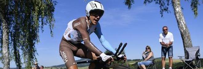Ciclismo, Pozzovivo alla Bahrain-Merida di Nibali