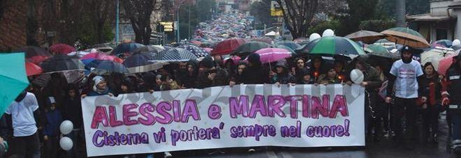 La manifestazione dei giorni scorsi in memoria delle bambine uccise