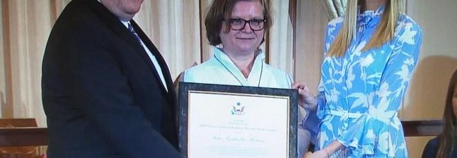 La suora italiana che ha salvato migliaia di donne dalla tratta premiata a Washington