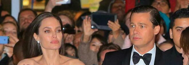 Brad Pitt e Angelina Jolie: dopo il divorzio la lite per affari