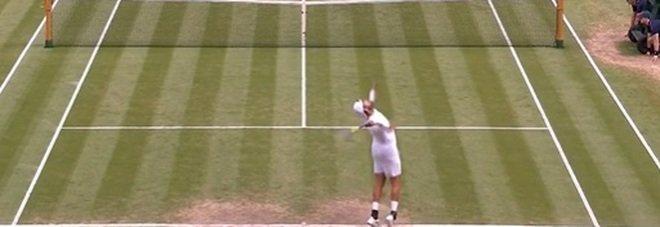Berrettini in finale a Wimbledon: il video del match point