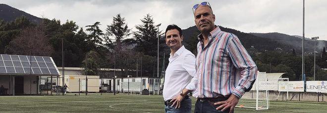 Maurizio Pezzotti e Massimo Basilici