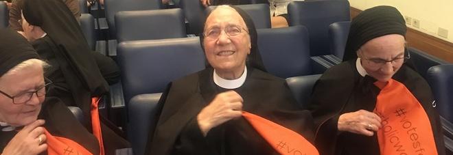 Tutte le suore di un monastero a Roma per protesta, vogliamo votare al Sinodo