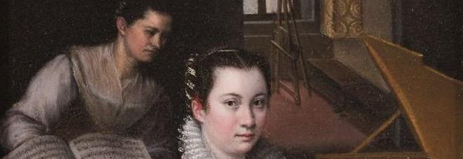 Una delle opere di Fontana, Ritratto di Costanza Alidosi