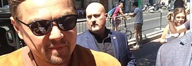 Leonardo Di Caprio turista per caso: dal Colosseo a Villa d'Este, tour da premio Oscar