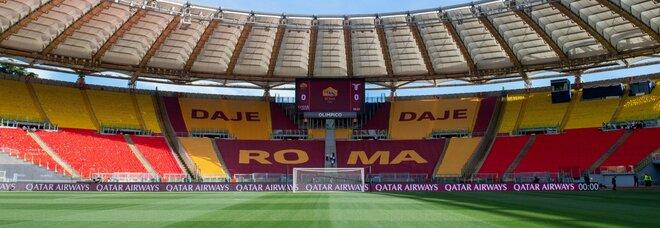 """Derby, svelata la coreografia in Curva Sud: c'è la scritta """"Daje Roma daje"""""""