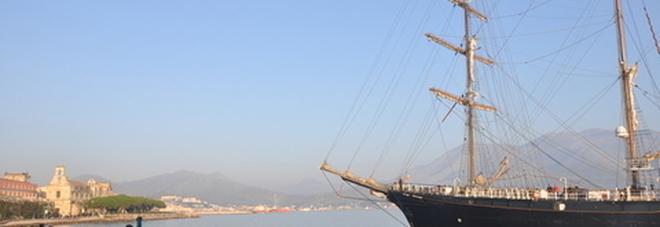 la nave scuola 'Signora del Vento' a Gaeta