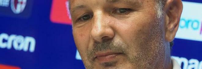 Bologna, Mihajlovic: «Covid? Quanta invidia e fango su di me»