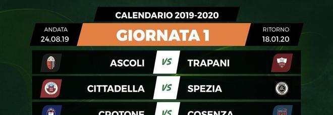 Calendario Serie A 1 Giornata.Serie B Sorteggiato Il Calendario Nella Prima Giornata