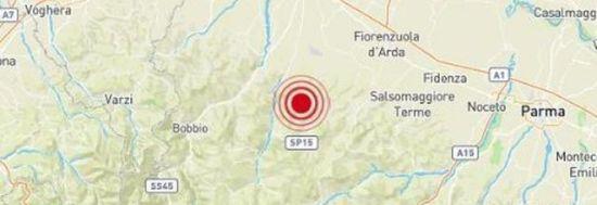 Terremoto nel Piacentino, torna la paura in Emilia Romagna. «Avvertito anche a Parma e Fidenza»