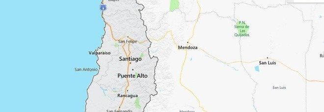 Terremoto in Cile, forte scossa spavento a Santiago anche tra i manifestanti anti-Governo