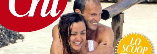 Ambra Angiolini e Massimiliano Allegri, la coppia dell'estate: weekend di passione al mare