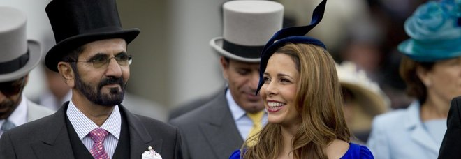 La principessa Haya scappa dal marito emiro di Dubai: «Ora ha paura di essere rapita»