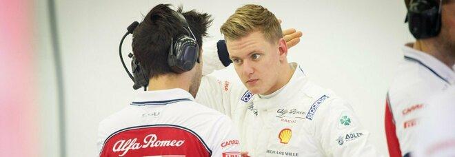 Formula 1, prima volta per Mick Schumacher: guiderà l'Alfa Romeo nelle libere del Nurburgring