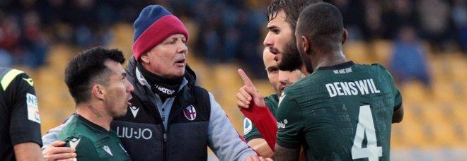 Lecce-Bologna, Mihajlovic contro Medel, uno scontro vecchie maniere