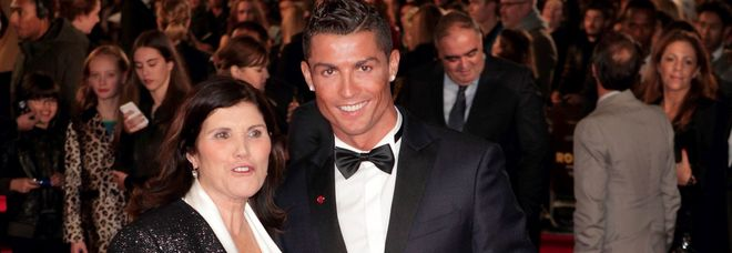 Cristiano Ronaldo e sua madre Maria