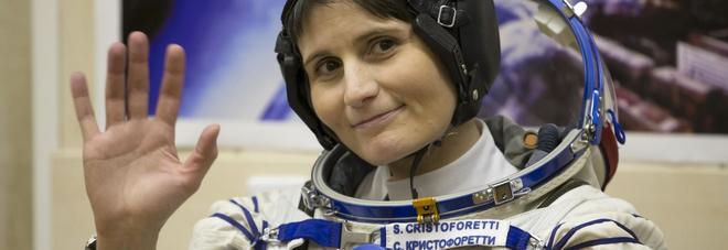 L'astronauta dell'Esa Samantha Cristoforetti