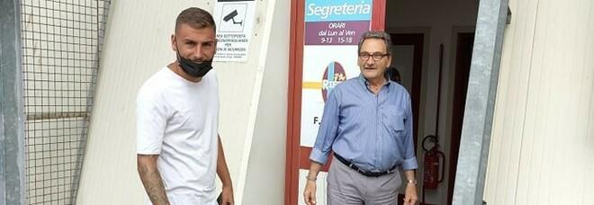 Tiziano Tiraferri e il segretario Giancarlo Palma