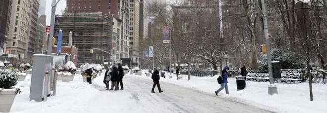 Tempesta di neve su New York