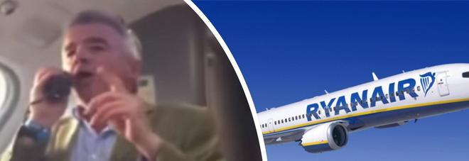 RyanAir, Michael O'Leary offre da bere a tutti i passeggeri per scusarsi del ritardo: ecco perché
