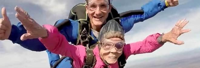 Usa nonnina spericolata per festeggiare i suoi 94 anni - Si usa per cucinare 94 ...