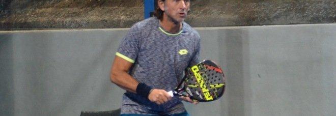 Berrettini, il papà Luca gioca a Padel: sconfitto in semifinale di Coppa dei Canottieri