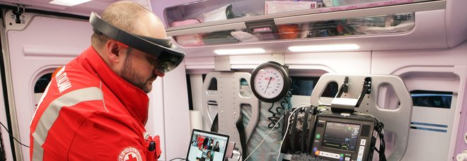 Covid, l'assistenza in ambulanza è connessa con il pronto soccorso