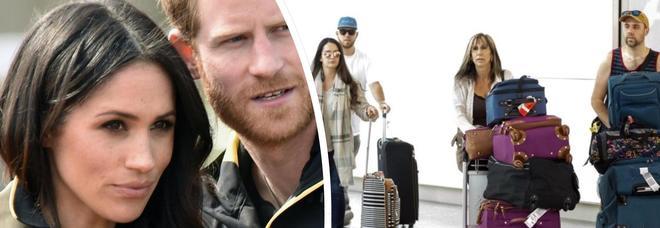 Meghan, l'ex cognata e i nipoti (non invitati) arrivano a Londra prima delle nozze con Harry
