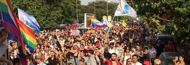 Un'immagine del Lazio Pride