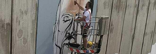 Un murales per Bonucci