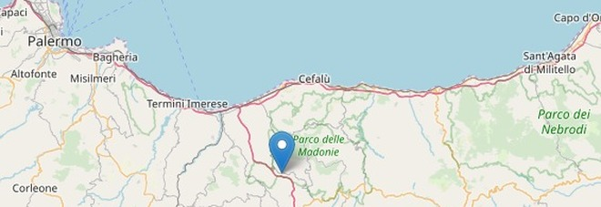 Terremoto vicino Palermo, magnitudo 3.4 a Scillato: trema la terra delle Madonie
