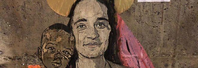 TvBoy, street art a Taormina: Camilleri, Mahmood e Rackete i nuovi murales dell'artista