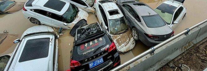 Cina, il video con le immagini dell'inondazione