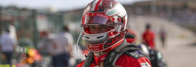 Formula 1, Leclerc: «Oggi bene, ma i punti si fanno domani»