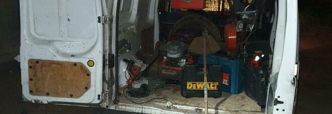 Accusato di almeno cinque furti, ladro seriale arrestato dai carabinieri