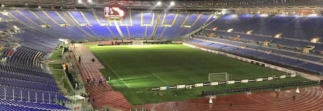 Lazio, gare porte chiuse? Spunta l'idea dei tifosi collegati in diretta streaming con l'Olimpico