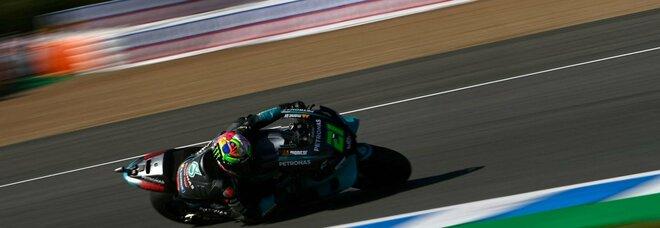 Moto Gp, seconda pole position per Quartararo, Morbidelli ottimo secondo posto